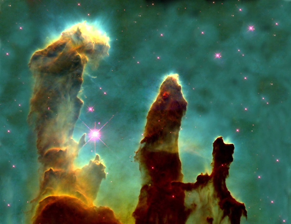 Eagle Nebula, Ic 4703, Fog, Open Sternhaufen