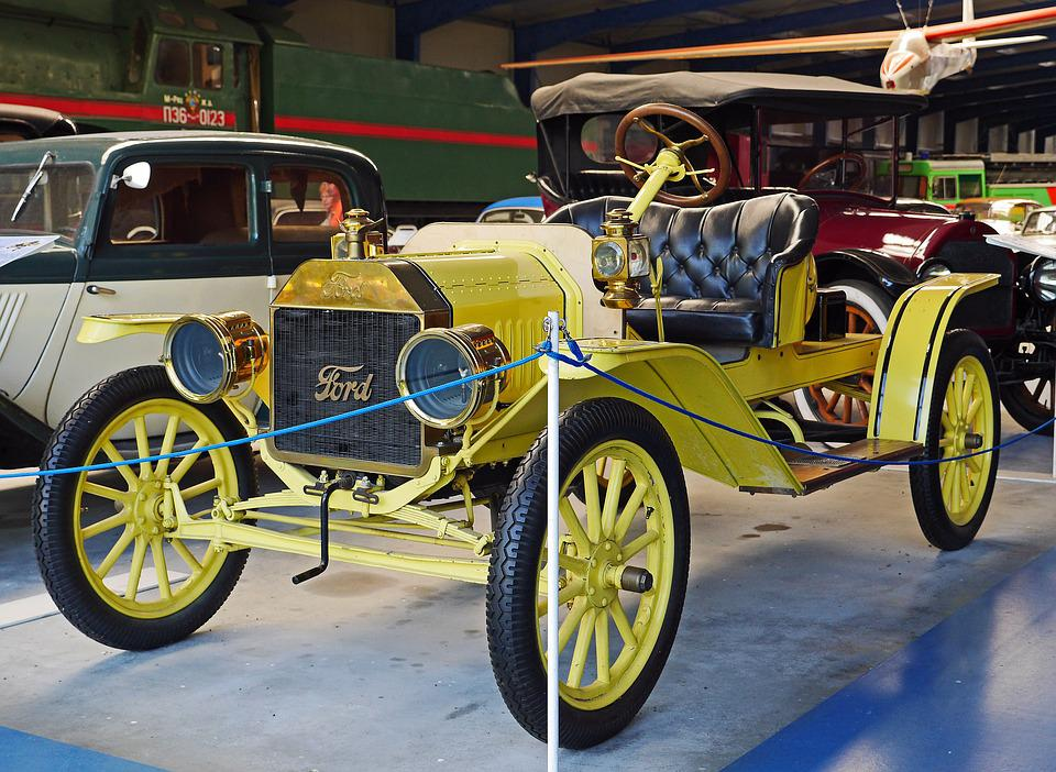 Ford, T-model, Museum, Open, Carriage Technology