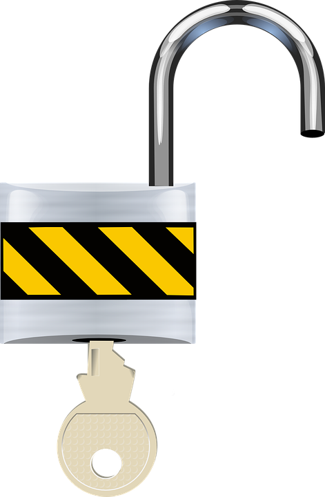 Open, Padlock, Lock, Security, Unsafe, Unlock, Key