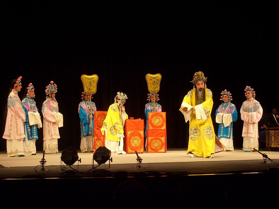 Opera, Chinese, Stage, Act, Culture, Traditional