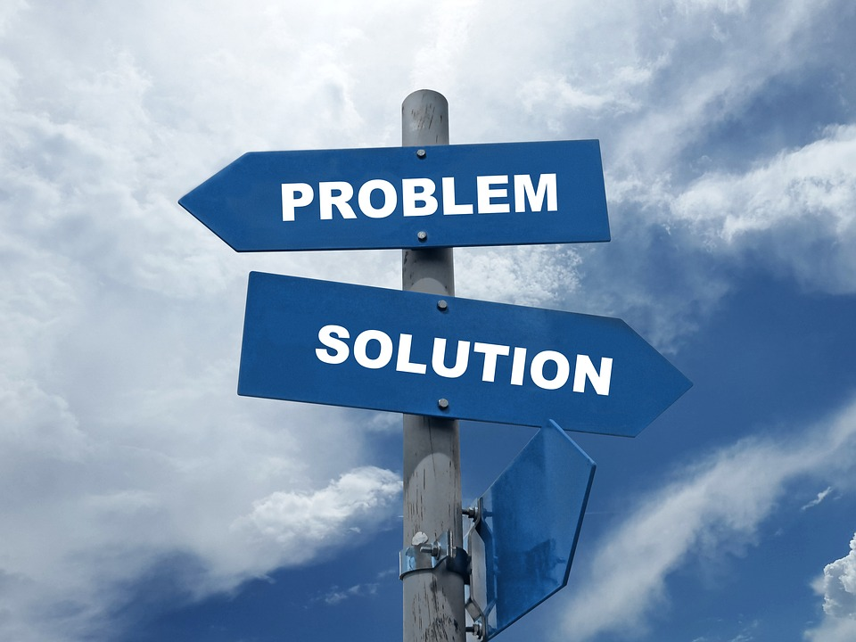Problem, Solution, Decision, Think, Choose, Opportunity