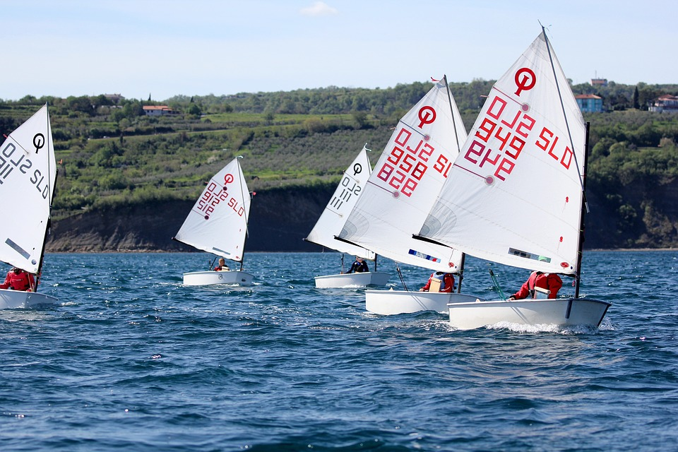 Sailing, Optimist, Sport, Young, Boat, Race