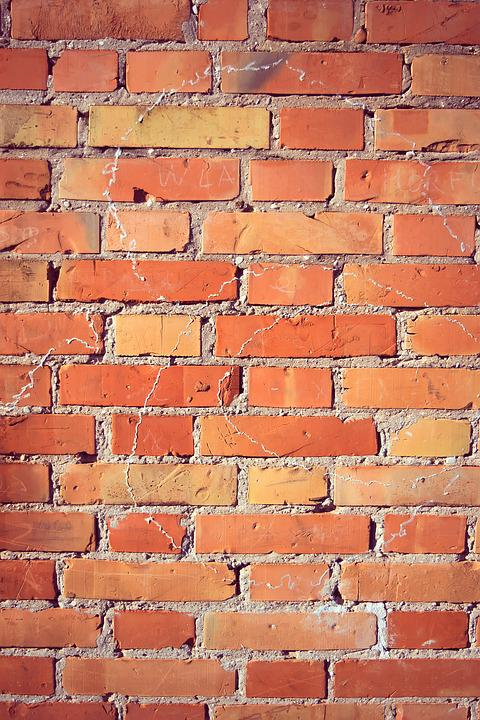 free photo orange backgrounds yellow textures red brick wall max pixel
