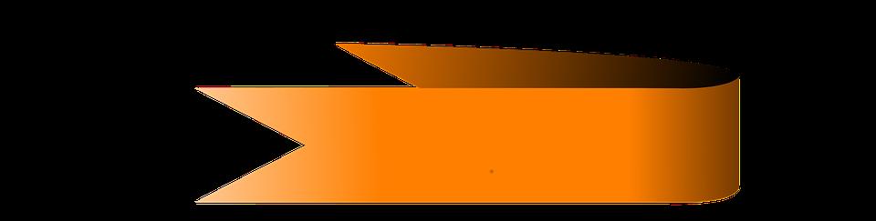 Banner, Orange, Graphic