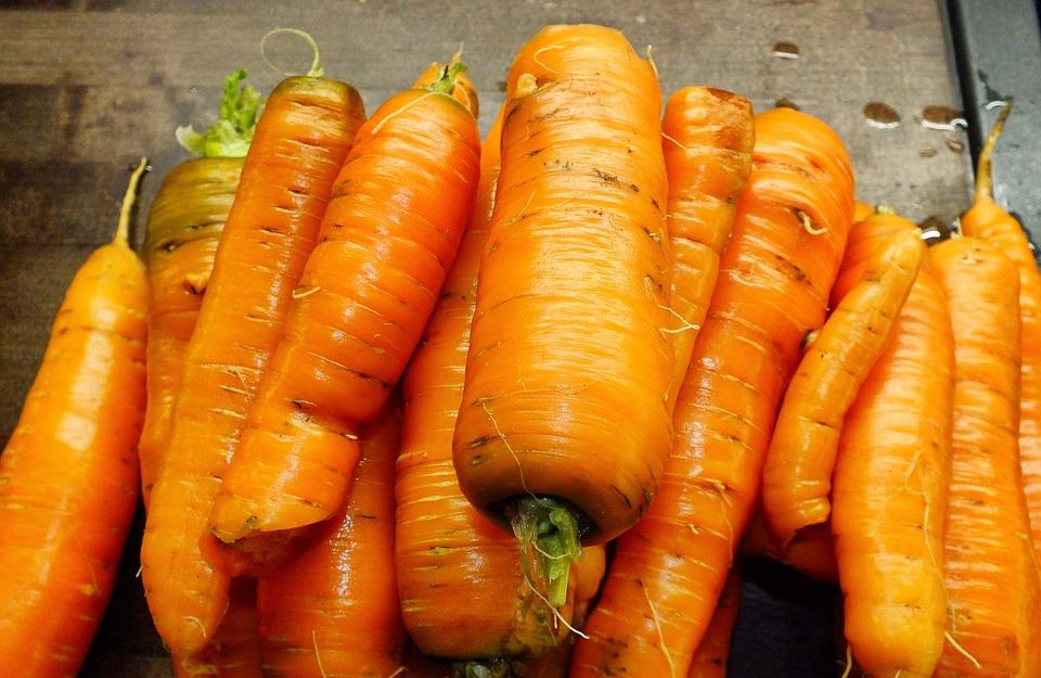 Carrots, Orange Carrots, Organic Carrots, Healthy