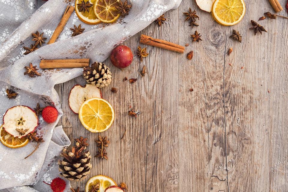 Christmas, Advent, Orange, Apple, Cinnamon