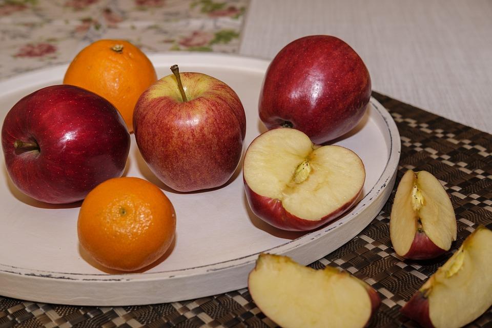 Apple, Orange, Mandarin, Clementine, Fruit, Fruits
