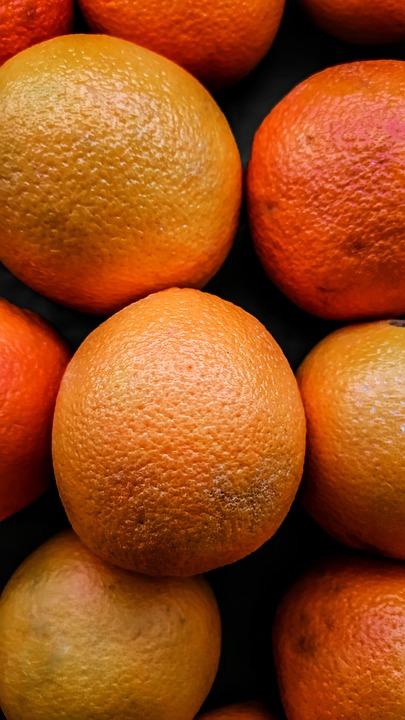 Wallpaper, Fruit, Orange, Portrait, Oren, Yellow