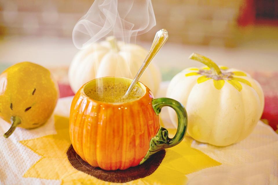 Pumpkin Spice Latte, Fall, Autumn, Pumpkin, Orange