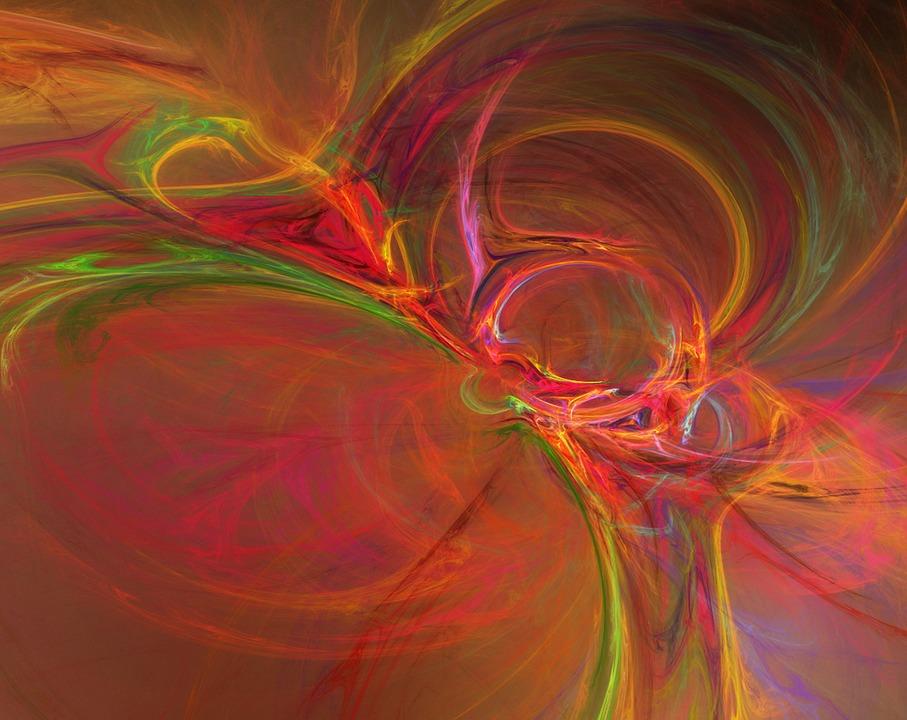 Fraktals, Orange, Red, Aphopysis