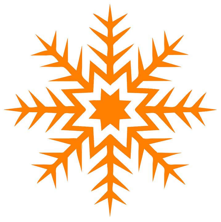 Abstract, Orange, Star, Star Pattern