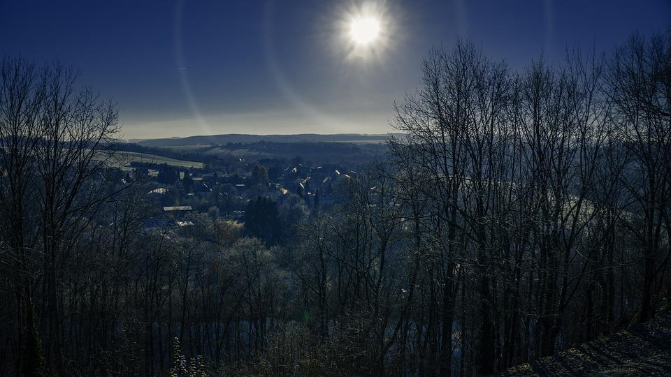 Cold, Clear, November, Ore Mountains