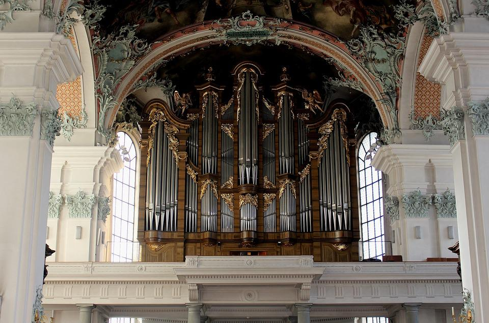 Music, Organ, Main Organ, Gallen Cathedral St