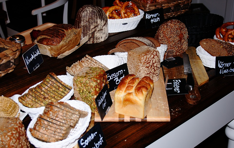 Bread, Organic, Breakfast