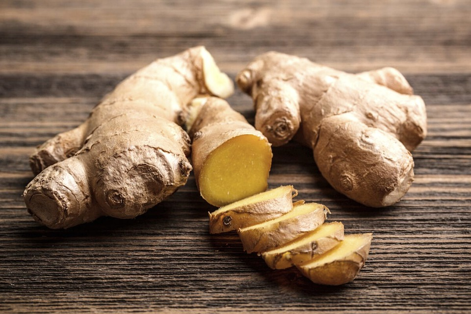 Ginger, Fresh Ginger, Food, Organic, Natural