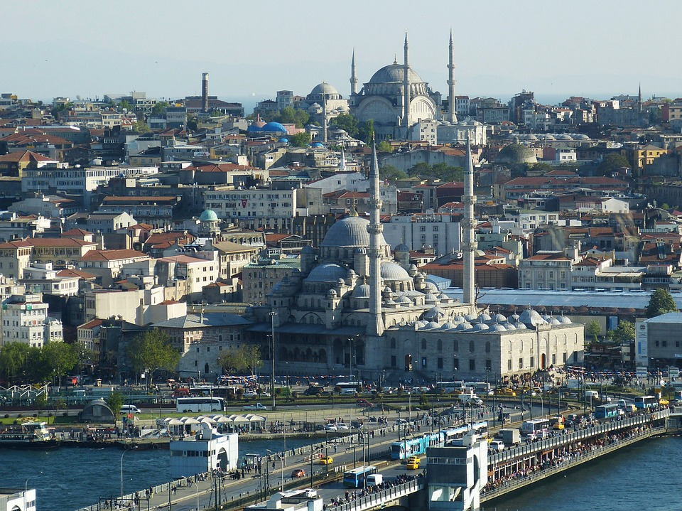 Istanbul, Turkey, Bosphorus, Orient, Mosque, Outlook
