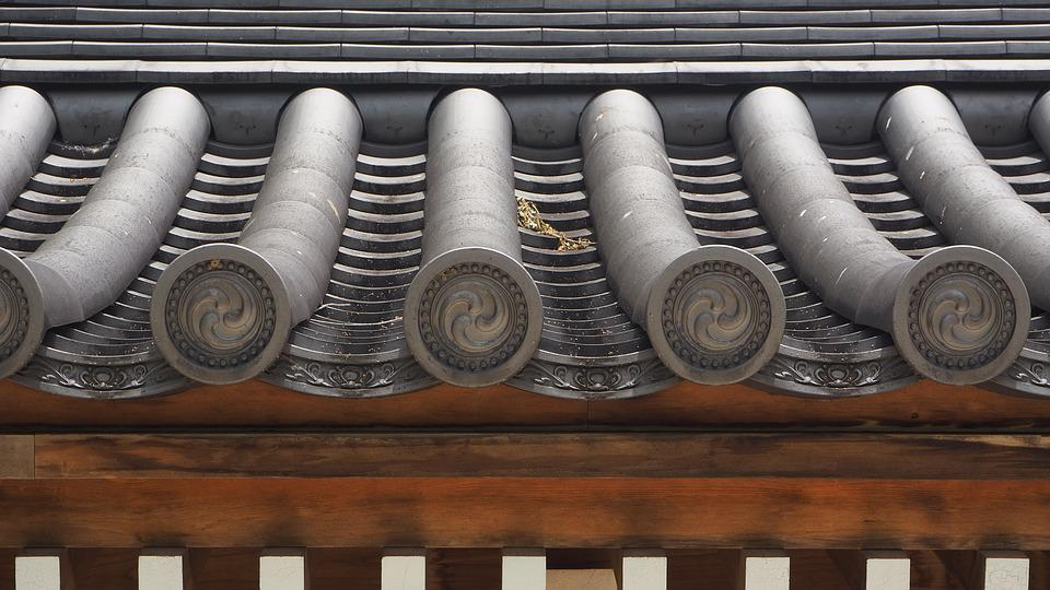 Oriental Roof, Asian Roof, Roof, Asian, Oriental