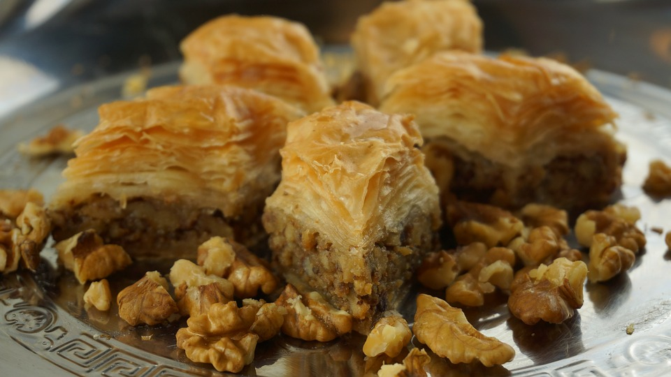 Walnut Baklava, Oriental Kitchen, Sweet Pastries