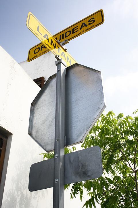 Crossing, Street, Orientation, Corner