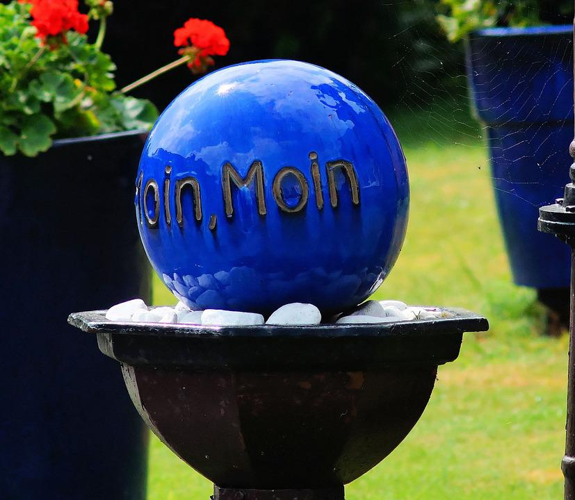 Ball, Shiny, Blue, Ornament, Welcome, Eye Catcher
