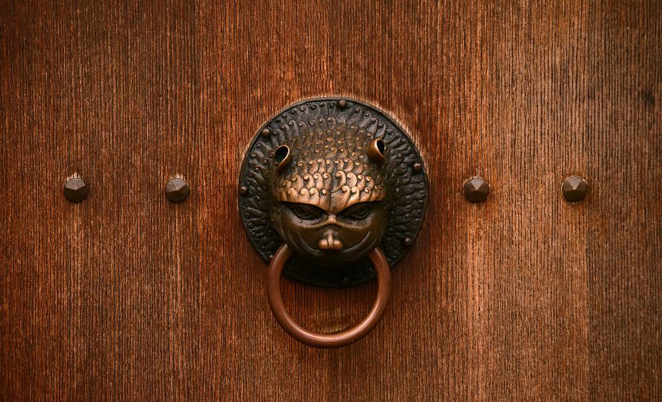 Door, Close, Old Door, Old, Input, Wood, Ornament