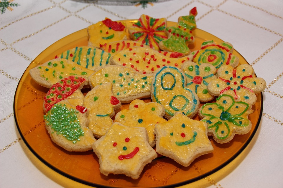 Cookie, Cookies, Ornament, Pastries, Advent, Christmas