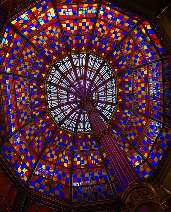 Ornament, Glass, Colorful, Color, Structure, Art, Form