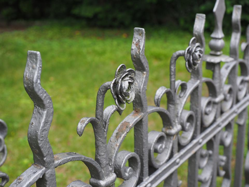 Fence, Garden Fence, Iron Fence, Metal Fence, Ornament