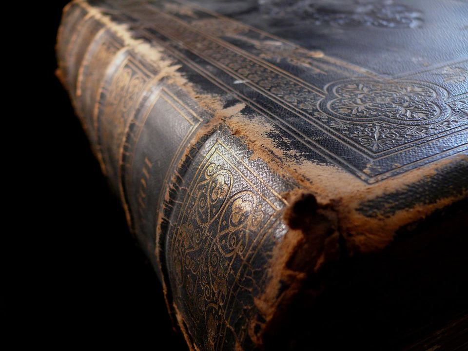 Old, Book, Bible, Religion, Ornament, Dust, Dusty