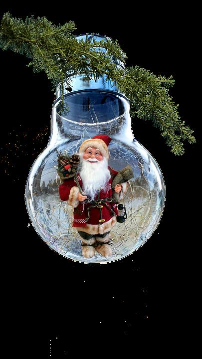Free Photo Ornament Pere Noel Decoration Christmas Bulb