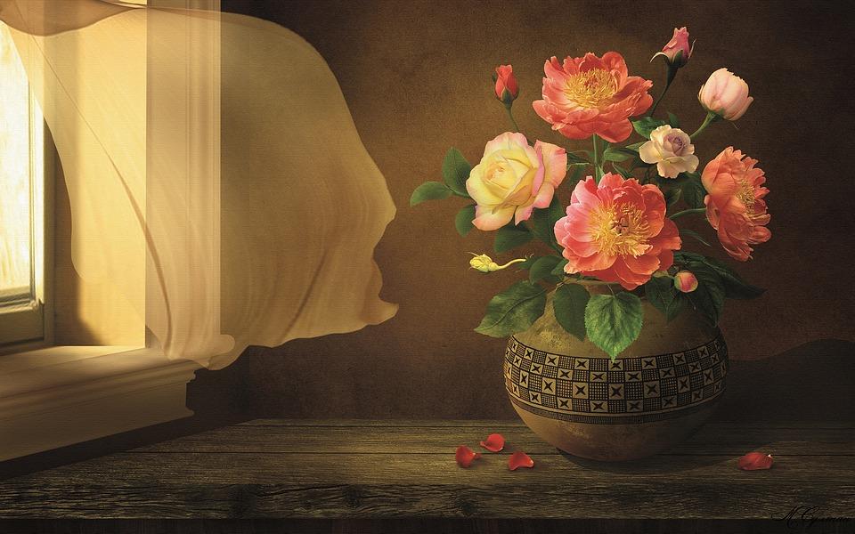 Flower, Vase, Ornament, Still Life
