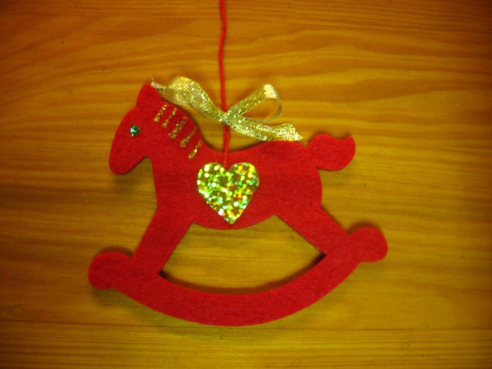 The Horse, Konik, Pendant, Ornament, Christmas Tree