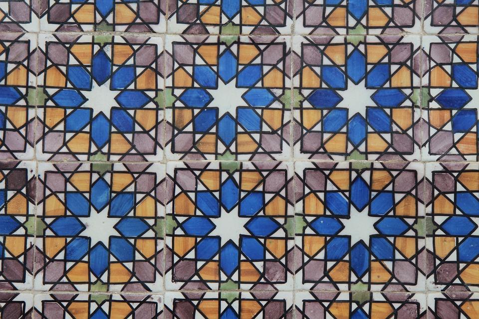 Tiles, Tile, Ornament, Pattern, Portugal, Color