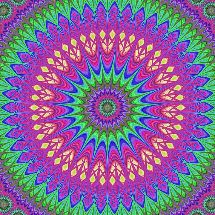 Mandala, Design, Ornament, Flower, Decoration, Tribal