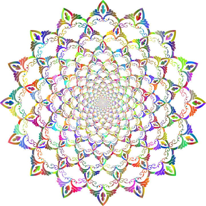 Mandala, Decorative, Ornamental, Vortex, Maelstrom
