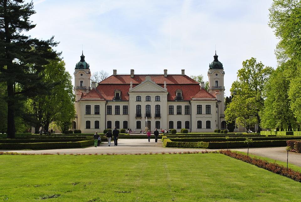 Kozłówka, Park Zamosc, Ornamental Plants, Kozlowka