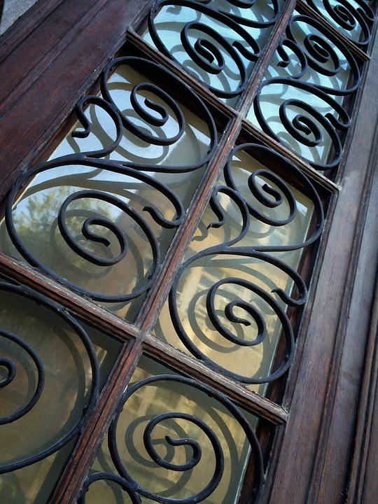 Ornate, Door, Perspective