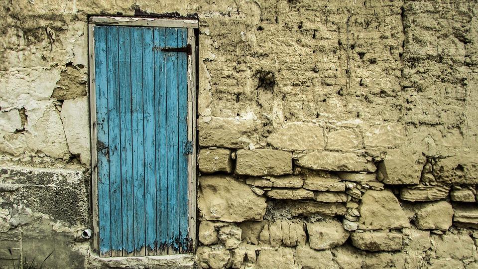 Cyprus, Oroklini, Old House, Abandoned, Aged, Weathered