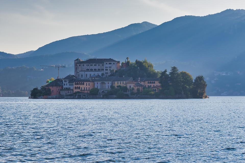 Orta San Giulio, Island, Tourism, Landscape, Lake