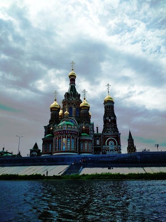 Russia, Orthodox Church, Church, Orthodoxy, Dome, Sky