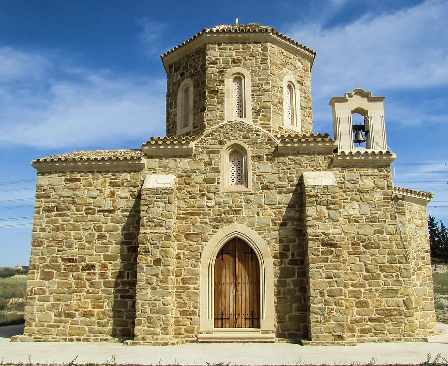 Cyprus, Oroklini, Church, Orthodox, Religion