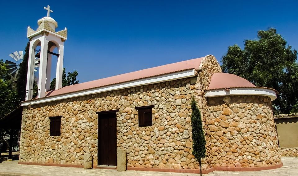 Cyprus, Xylotymbou, Church, Ayios Andreas, Orthodox