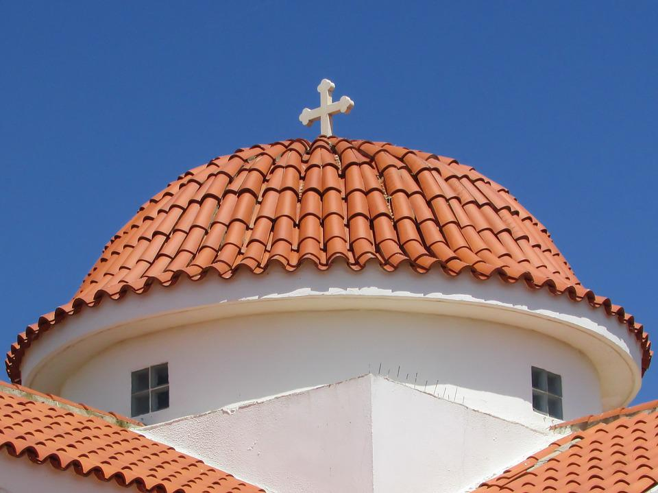 Cyprus, Liopetri, Church, Orthodox, Dome, Architecture