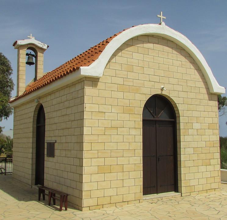 Cyprus, Dhekelia, Ayios Nikolaos, Church, Orthodox