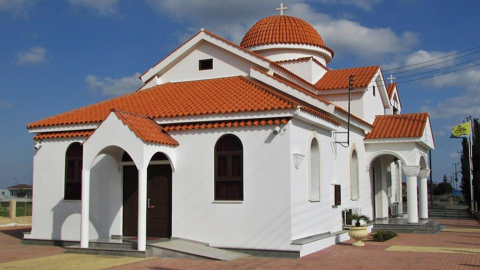 Cyprus, Xylofagou, Church, Orthodox