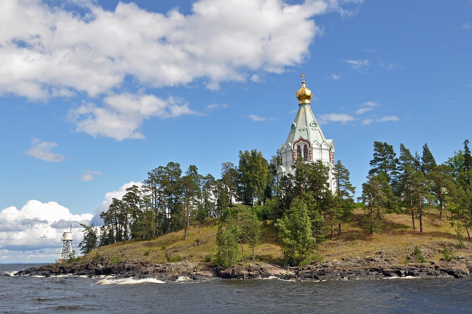 Russia, Balaam, Religion, Orthodoxy, Acutely, Lake