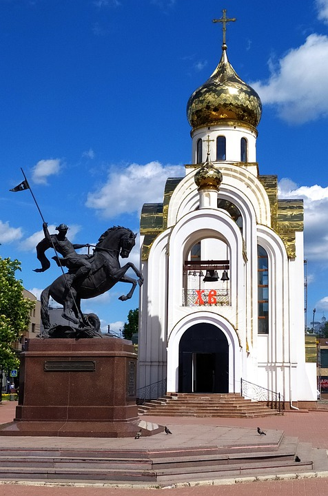 Temple, Monument, Religion, Summer, Orthodoxy