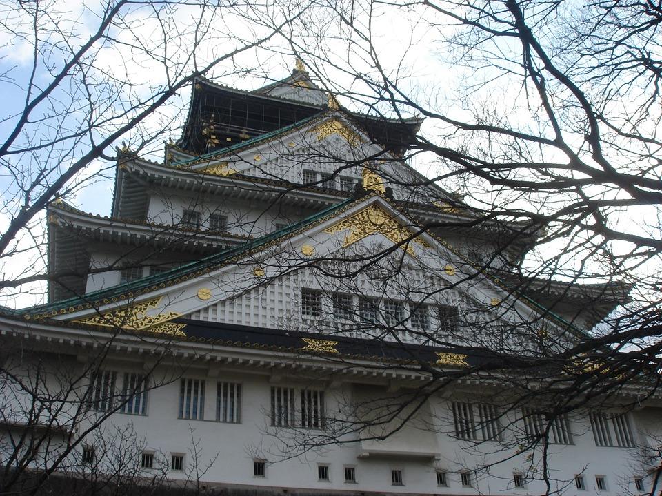 Osaka Castle, Castle, Wood