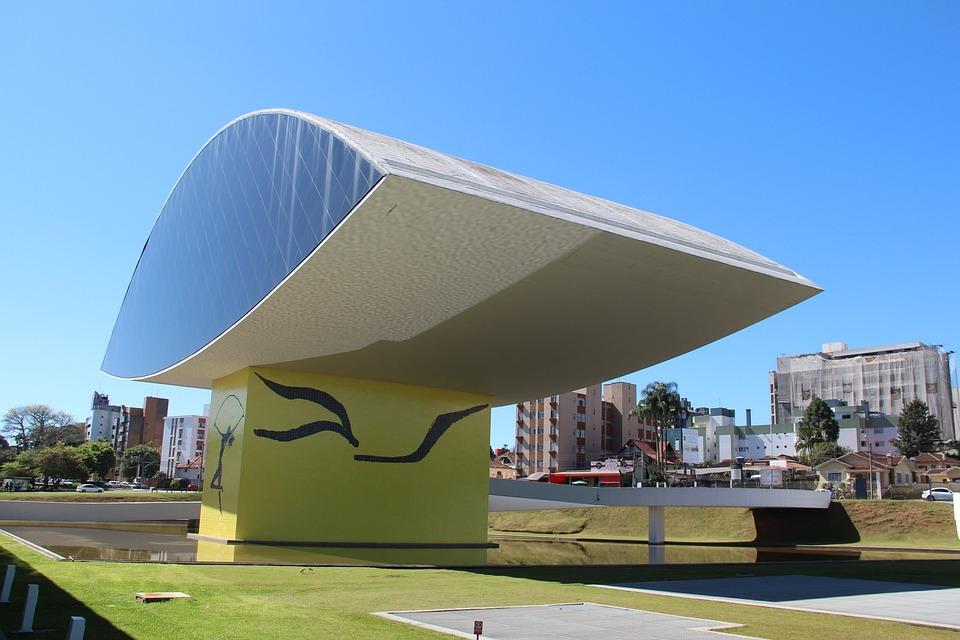 Curitiba, Oscar Niemeyer, Museum Of The Eye, Brazil