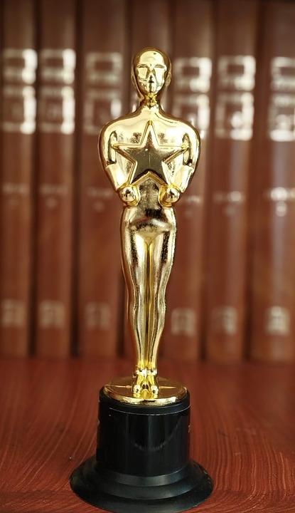 Oscar, Statue, Prize, Win, Leader, Brown Leader